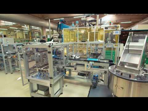Vacuum Cleaner Brush Automated Assembly Line