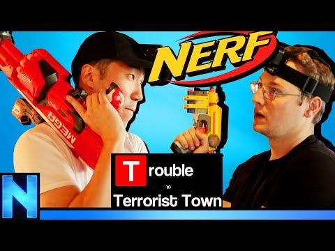 NERF TTT - Going Off The Grid!