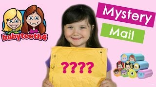 Mystery Package from BabyTeeth4! Thank you Jillian and Addie! CANDY Taste Test and REVIEW!