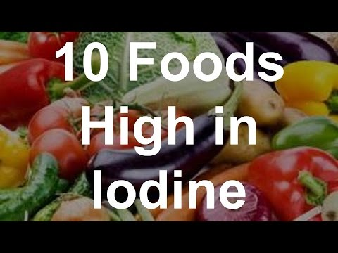 10 Foods High in Iodine