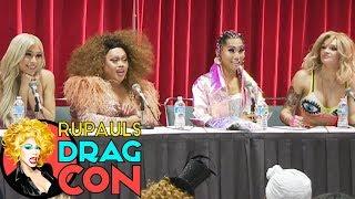 Truth About Trolls with Gia Gunn, Jiggly Caliente, Sonique, & Eden Estrada RuPaul's DragCon LA 2017