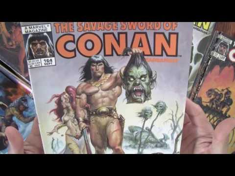 Roy Thomas on Conan the Barbarian, Comics Code, Censorship: Savage Sword of Conan Collection [ASMR]