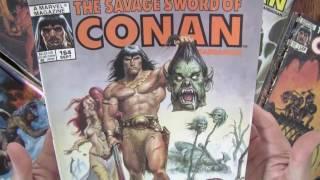 roy thomas on conan the barbarian comics code censorship savage sword of conan collection asmr