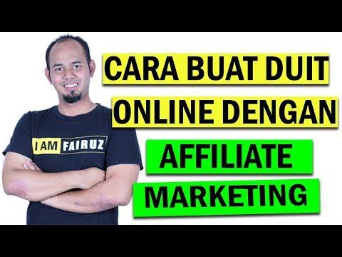 Buat Duit Secara Online dengan Affiliate Marketing