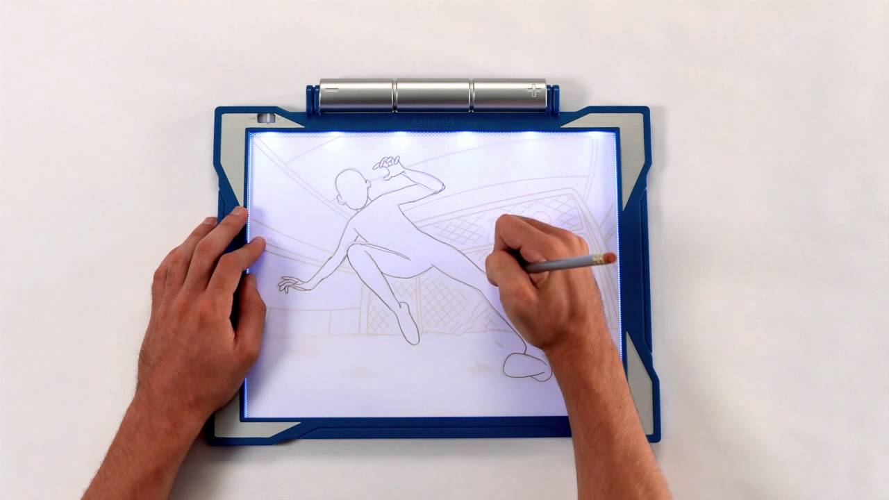 Crayola Light Up Tracing Pad Demo Youtube