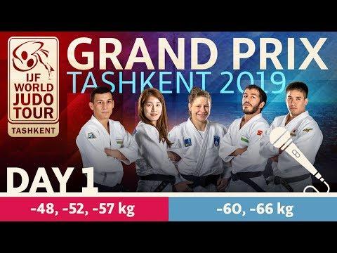 Judo Grand-Prix Tashkent 2019: Day 1