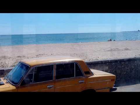 Евпатория 2016 маршрутка #6 дорога с нового пляжа