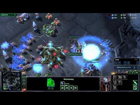 Starcraft II HotS - Suddenly Silver #2 - Oh my god marines
