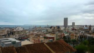 Видео панорамы города Аликанте, Испания(В этом видео вы сами всё увидите и прикоснетесь к жизни испанского средиземноморского курортного городка..., 2016-03-07T14:42:37.000Z)