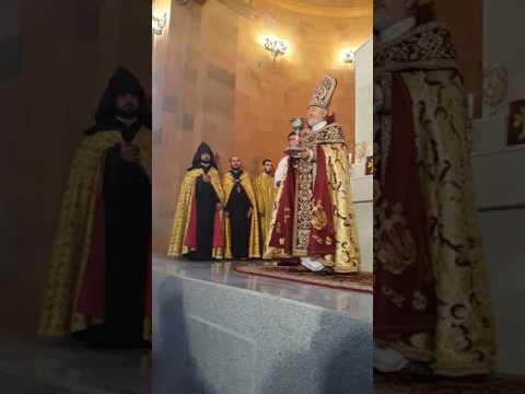 Освящение армянской церкви Твери