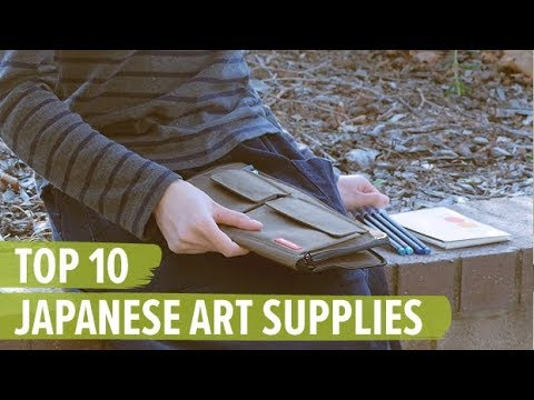 Top 10 Japanese Art Supplies
