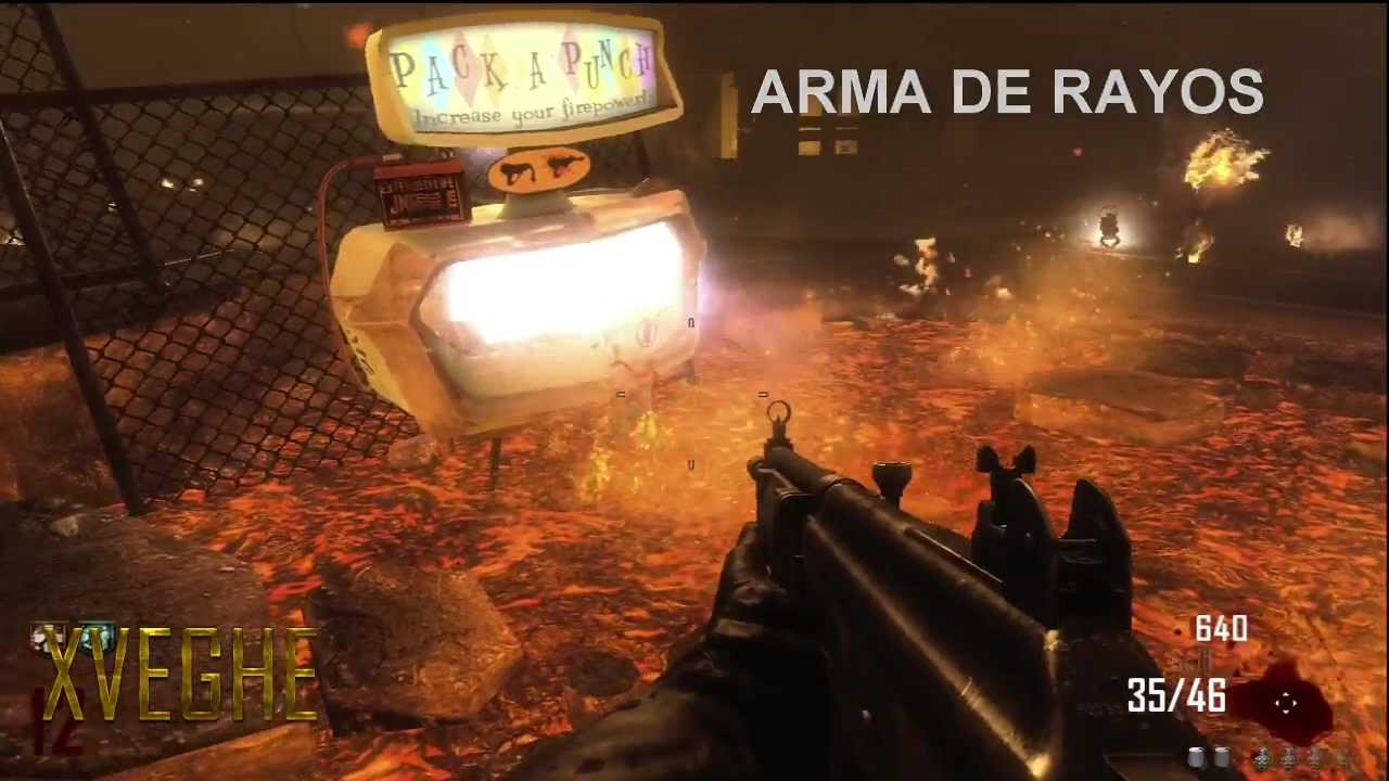Call Of Duty Black Ops 2 Zombies Todas Las Armas Y Mejoras X2 X3 Green Run Youtube