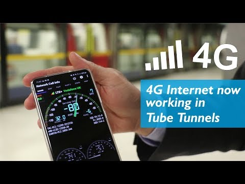 4G Internet Now In Underground Tunnels