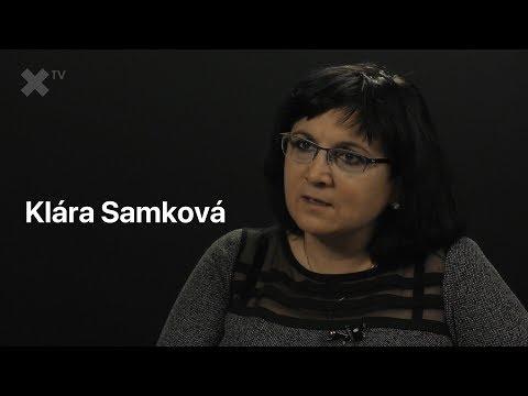 Klára Samková v XTV
