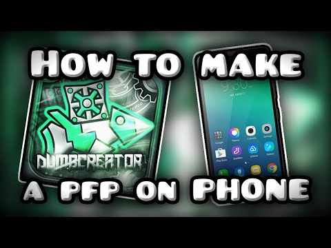 How To Make A COOL Profile Picture On MOBILE 📱