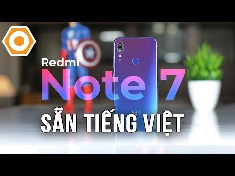 Redmi Note 7 sẵn tiếng Việt - Đã đến lúc để mua với giá dưới 4 triệu