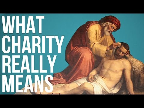 What Charity Really Means