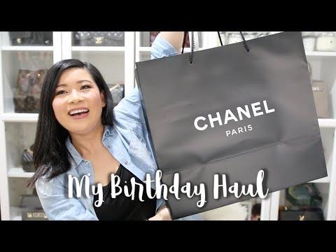 MY BIRTHDAY HAUL: CHANEL + LOUIS VUITTON | Kimchella