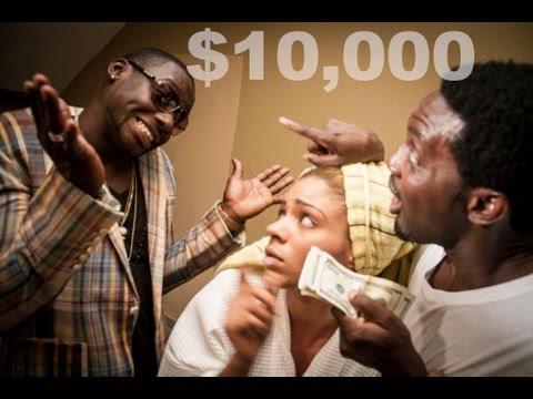 Ay Comedy Skit - $10,000 featuring AY, Chris Attoh and Venita Akpofure