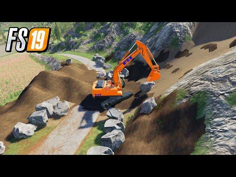 Rock Mod TP Pierrot Map V5 Farming Simulator 2019 Mining Mods