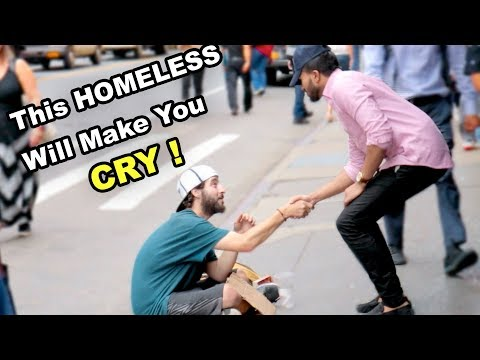 Saying 'I LOVE YOU' To A Homeless **emotional**