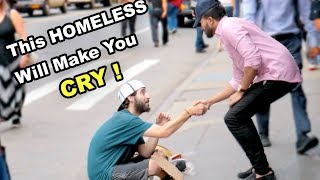 "Saying ""I LOVE YOU"" To A Homeless **emotional**"