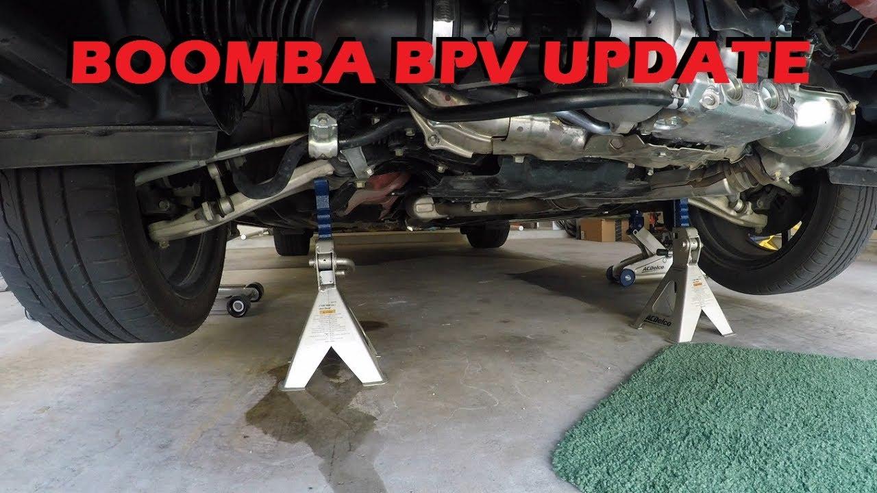 2017 WRX Boomba BPV - Update & Drive