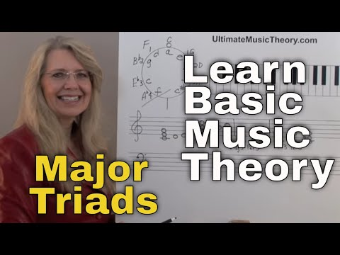 Major Triads- Music Theory: Video Lesson 7