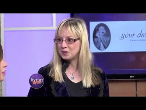 WDTN-TV Living Dayton interview with Kathy Piech-Lukas, wedding planner with Your Dream Day wedding