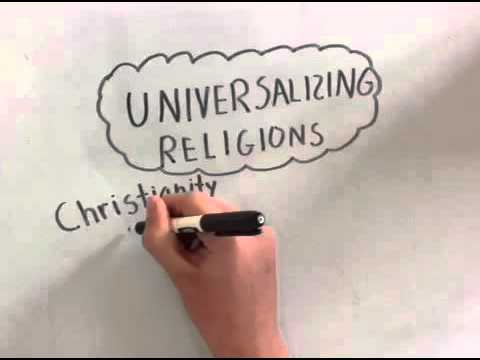 AP Human Geography—Ethnic and Universalizing Religions - YouTube