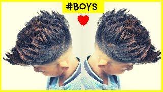 haircut for boys | STYLISH haircut FOR BOYS 2019 ⭐️ boys haircut 2019