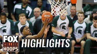 Michigan State vs. Ohio State   FOX COLLEGE HOOPS HIGHLIGHTS