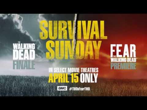 Survival Sunday: The Walking Dead & Fear the Walking Dead Trailer