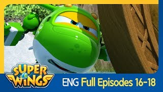 [Super Wings] Full Episodes 16~18(ENG)