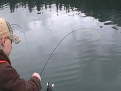 Kokanee fishing on lake merwin youtube for Lake merwin fishing