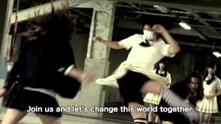 Innocent Lilies (Shiro-majo gakuen) English-subtitled trailer - w/ Dempagumi.inc