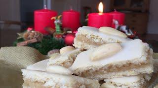 Fruchtige Zitronenschnitten lecker und marzipanig (nicht nur) im Advent