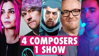 4 COMPOSERS SCORE THE SAME SHOW ft. Virtual Riot, Christian Henson, Tori Letzler, Mark Hadley