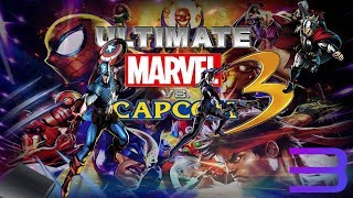 Ultimate Marvel vs. Capcom 3 - RPCS3 TEST 2 (Almost Playable)