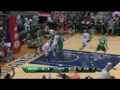 Jeff Teague Dunk Over Ray Allen Atlanta Hawks Vs Boston Celtics
