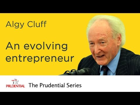 Algy Cluff - An evolving entrepreneur from the North Sea to China