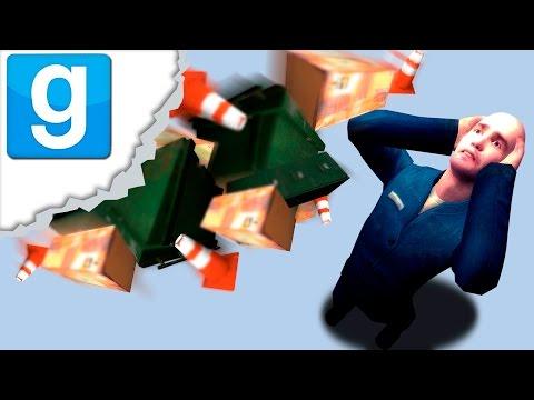 видео: АТАКА МУСОРОМ (Garry's Mod: Trash Compactor)