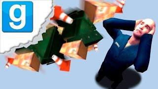 АТАКА МУСОРОМ (Garry's Mod: Trash Compactor)