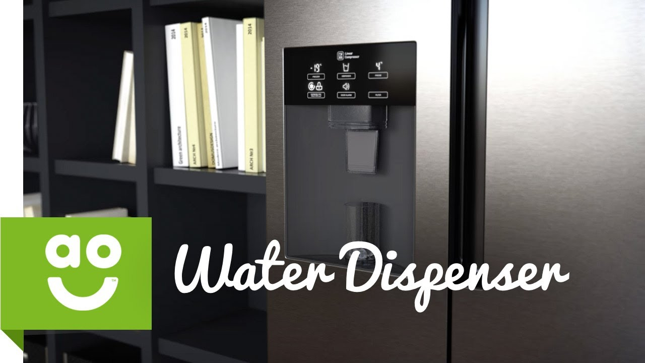 American Fridge With Ice Dispenser Part - 45: LG Water And Ice Dispenser | American Fridge Freezer | Ao.com