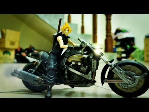 Final Fantasy Stop motion- Sephiroth the World