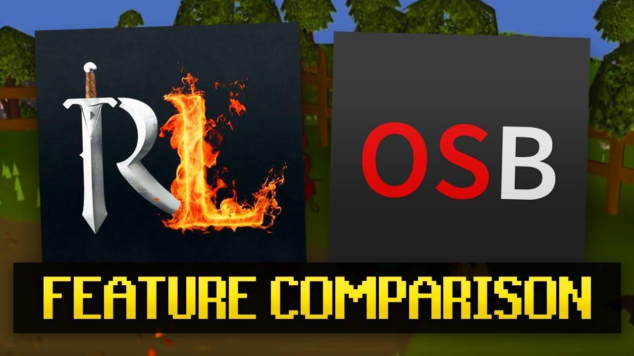RuneLite vs OSBuddy (Client Feature Comparison)