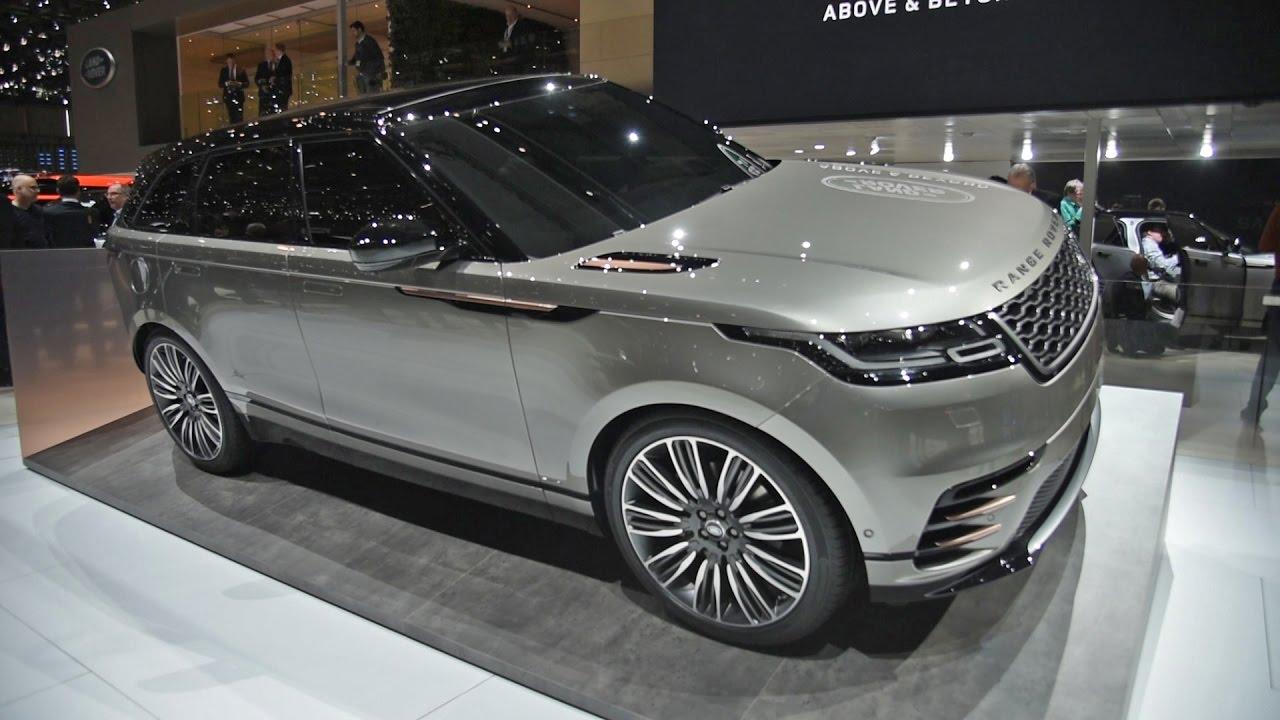 2018 Range Rover Velar First Look - 2017 Geneva Motor Show ...