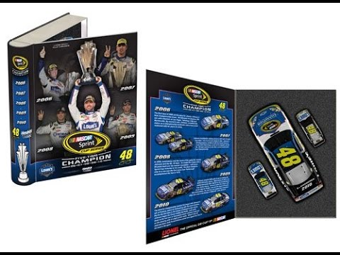 NASCAR Diecast Review: Jimmie Johnson 5X Champion 3-Car Tin Set