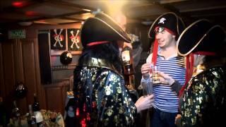 видео Корпоратив в стиле Пиратов | Сценарий, конкурсы, костюмы, пригласительные, меню