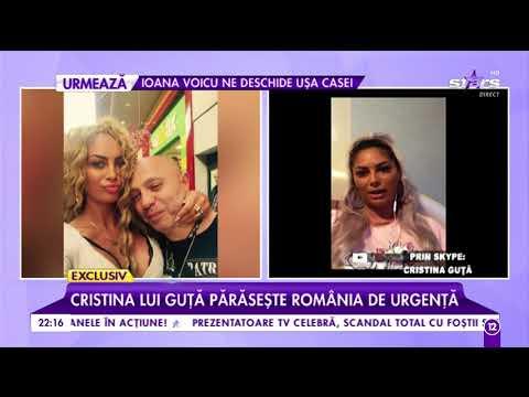 """Cristina lui Guță părăsește România de urgență. Vrea să uite de """"Regele manelelor"""" definitiv"""